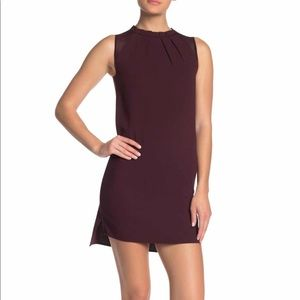 AllSaints Jay Pleated Shift Dress NWOT SZ XS